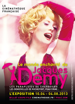 Expo Jacques Demy Cinémathèque