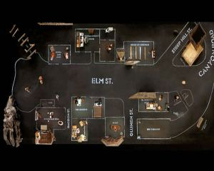 Sources : http://spacefiction.wordpress.com/2010/04/20/dogville-closed-spaceespace-clos/