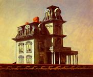 Maison près de la voie ferrée - Hopper