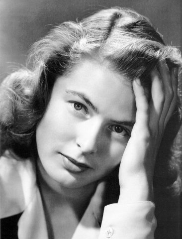 Ingrid Bergman. Source : Wikipédia